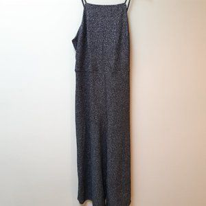 Wild Fable metallic wide leg jumpsuit